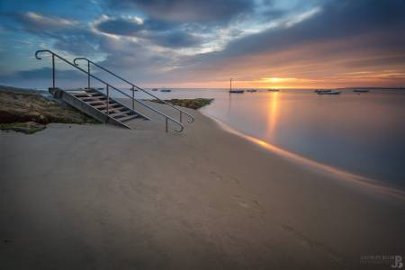 Photo de Pyla-sur-Mer - L'escalier !
