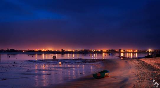 Photo de Arcachon - Le port la Teste vu depuis l'Aiguillon