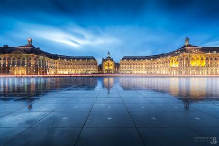 Photo de Bordeaux - La place de la Bourse