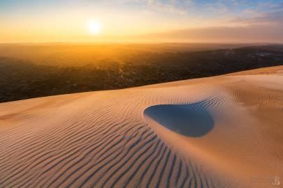 Photo : La dune du pilat par -14°C