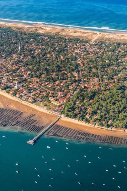 Photo de Cap Ferret - De la jetée à la plage, il n'y a qu'un pas