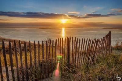 Photo de La Teste-de-Buch - Coucher de soleil sur la Dune du Pilat